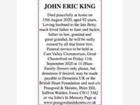 JOHN ERIC KING photo