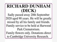 RICHARD DUNHAM (DICK) photo
