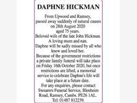 DAPHNE HICKMAN photo
