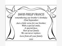 David Philip Francis photo
