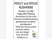MOLLY and DOUG RUSHMERE photo