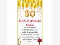 Alan & Marilyn Gagg photo