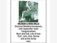 RICHARD & VERA WILLS photo