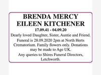 Brenda Mercy Eileen Kitchener photo