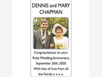 DENNIS and MARY CHAPMAN photo