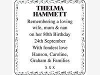 Thelma Hammett photo
