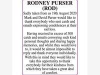 RODNEY PURSER (ROD) photo