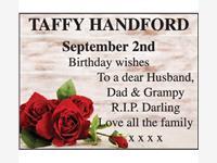 Taffy Handford photo