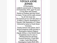VIVIAN ANNE JONES photo