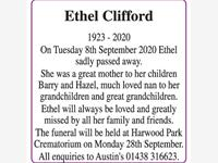 Ethel Clifford photo