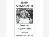 EDITH ARROWSMITH photo