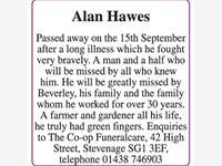 Alan Hawes photo