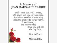 Jean Margaret Clarke photo