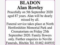 BLADON Alan Rowley photo