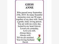ANNE GIESS photo