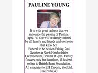 PAULINE YOUNG photo