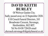 DAVID KEITH BURLEY, photo