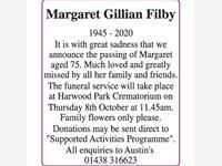 Margaret Gillian Filby photo