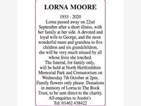 LORNA MOORE photo