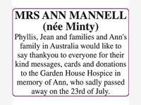 ANN MANNELL photo