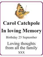 Carol Catchpole photo