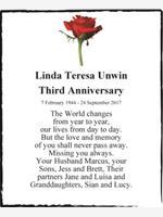Linda Teresa Unwin photo