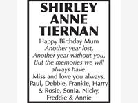 Shirley Ann Tiernan photo