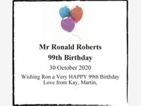 Mr Ronald Roberts photo