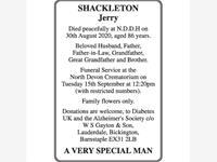 Jerry Shackleton photo