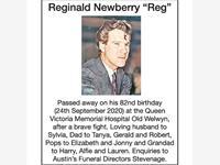 "Reginald Newberry ""Reg"" photo"