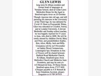 GLYN LEWIS photo