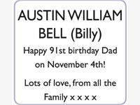 AUSTIN WILLIAM BELL (Billy) photo