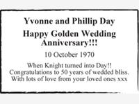 Yvonne and Phillip Day photo
