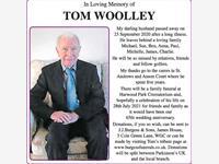 TOM WOOLLEY photo