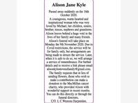 Alison Jane Kyle photo