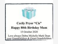 "Cecily Pryor ""Cis""  photo"