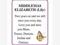 ELIZABETH MIDDLEMAS photo