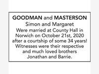 GOODMAN and MASTERSON photo