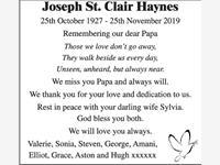 JOSEPH St. Clair HAYNES photo