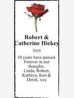 Robert & Catherine Hickey photo