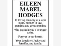 Eileen Mabel Hodges photo
