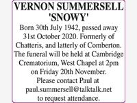 VERNON SUMMERSELL 'SNOWY' photo