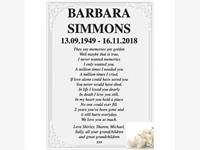 Barbara Simmons photo