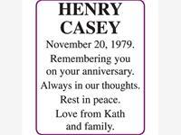 Henry Casey photo