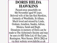 DORIS HILDA HAWKINS photo