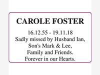 CAROLE FOSTER photo