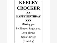 KEELEY CROCKER photo