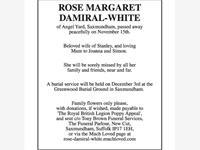 ROSE MARGARET DAMIRAL-WHITE photo