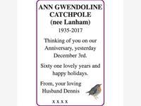 ANN GWENDOLINE CATCHPOLE photo