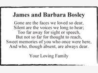 James and Barbara Bosley photo